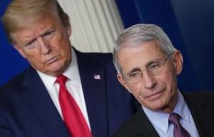 Trump s'en prend au Dr Fauci «et tous ces idiots»