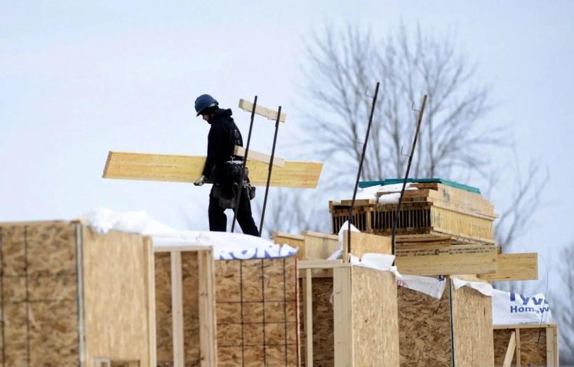 La valeur des permis de bâtir atteint un record en janvier