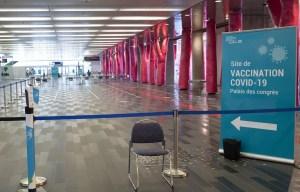 Franc succès pour la vaccination sans rendez-vous au Palais des congrès
