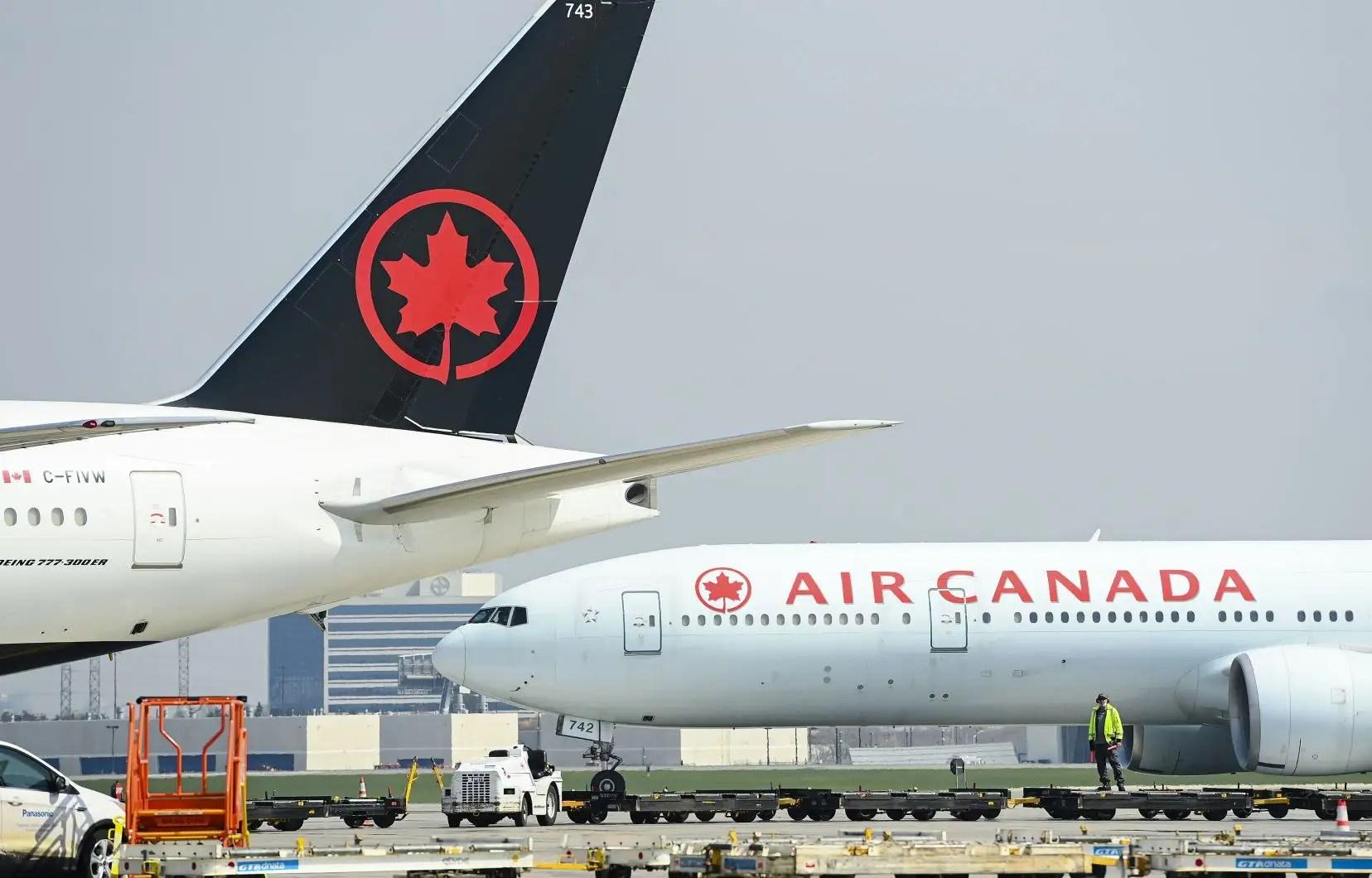 Les États-Unis réclament des millions à Air Canada