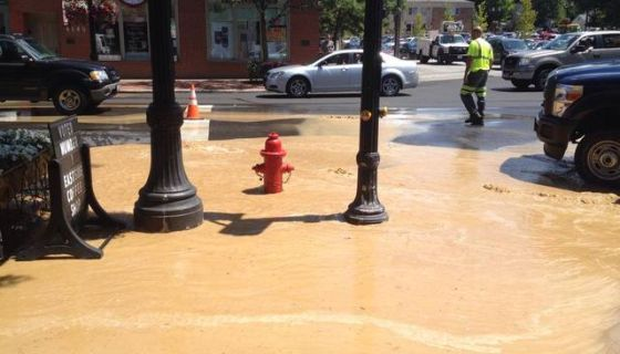 Downtown Willoughby Closed Due to Water Flooding | 93 1 WZAK