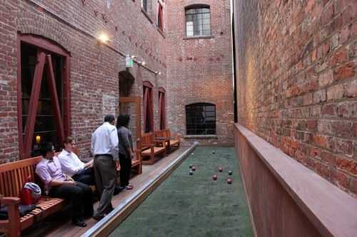 The Hidden Vine Bocce Court