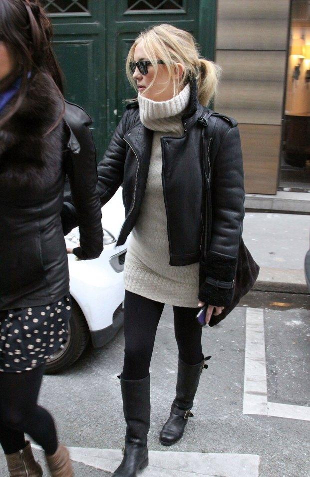 Kate Hudson automne col roulé