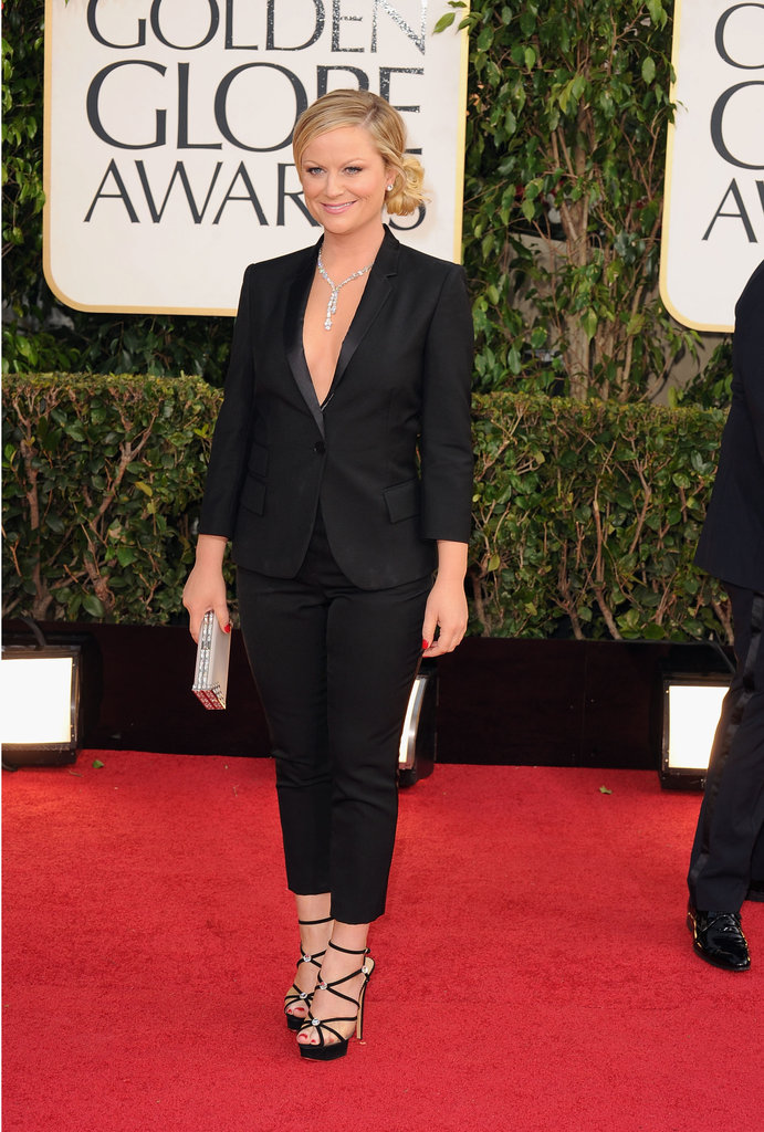 Amy Poehler in Stella McCartney at the 2013 Golden Globe Awards