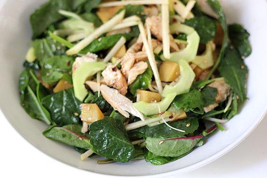 Baby Kale Chicken Salad