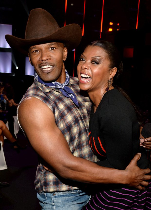 Jamie Foxx and Taraji P. Henson