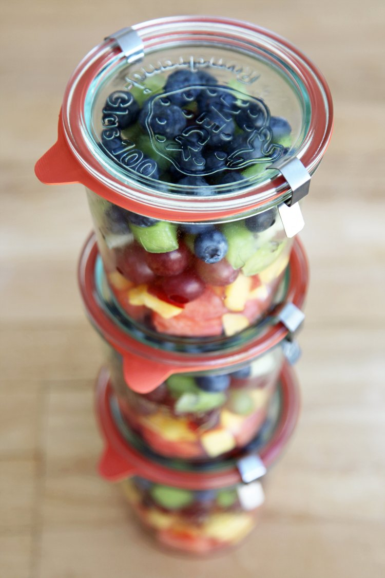 how to meal prep - weck containers