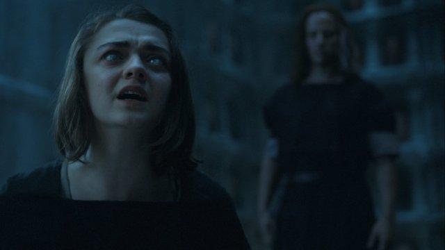 Arya Is Definitely Blind