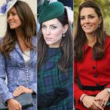 Osservi indietro 10 anni di Kate Middleton