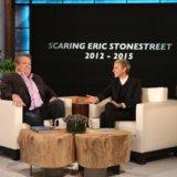 Ellen DeGeneres fa un video montaggio divertente di tutti gli spaventi di Eric Stonestreet