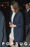 Kristen Stewart non può smettere di sorridere durante la sua uscita di NYC con Nicholas Hoult