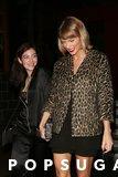 Lorde e Taylor rapidi sono tutti i sorrisi durante la notte delle loro ragazze fuori