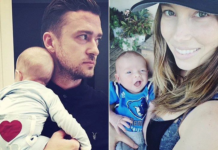 The Most Precious Photos Of Justin Timberlake And Jessica