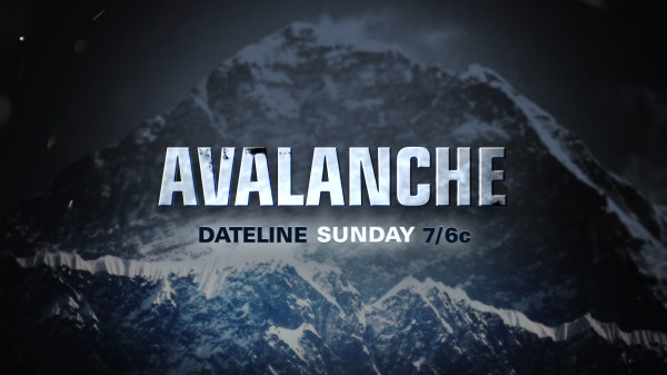 PREVIEW: Avalanche - NBC News
