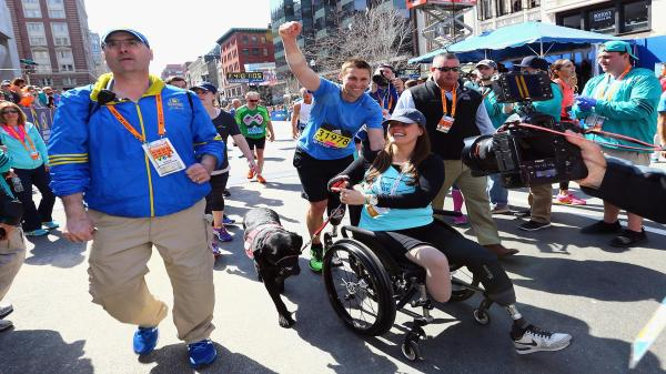 Boston Marathon bombing survivors Rescue ASPCA Dog of Year