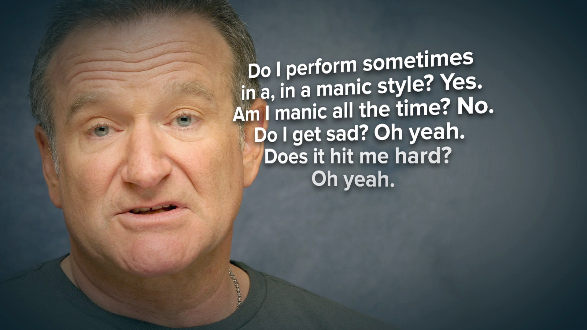 Image result for robin williams depression