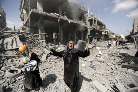 gaza war devastation