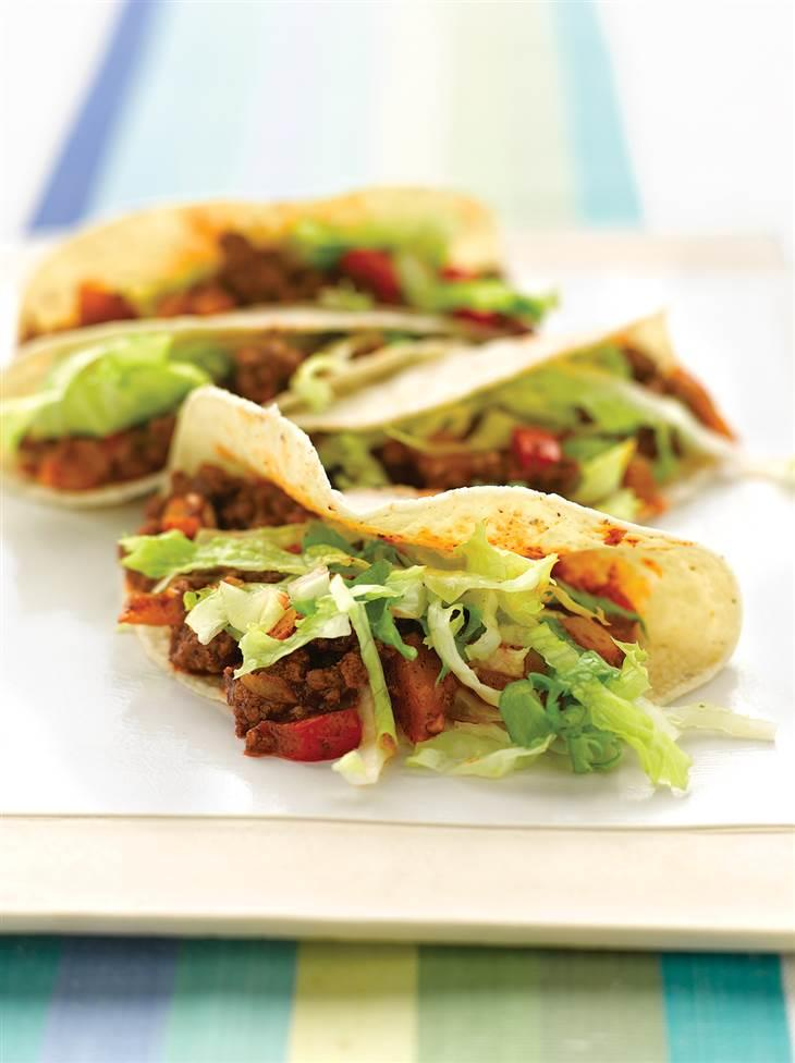 This healthy beef taco recipe is the perfect quick dinner ...