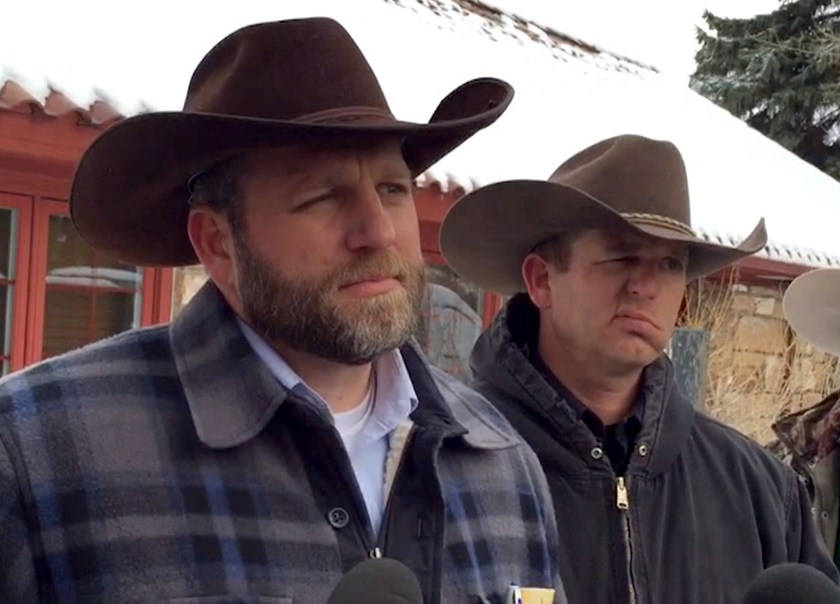 Image result for images of Ryan and Ammon Bundy at Malheur stand off