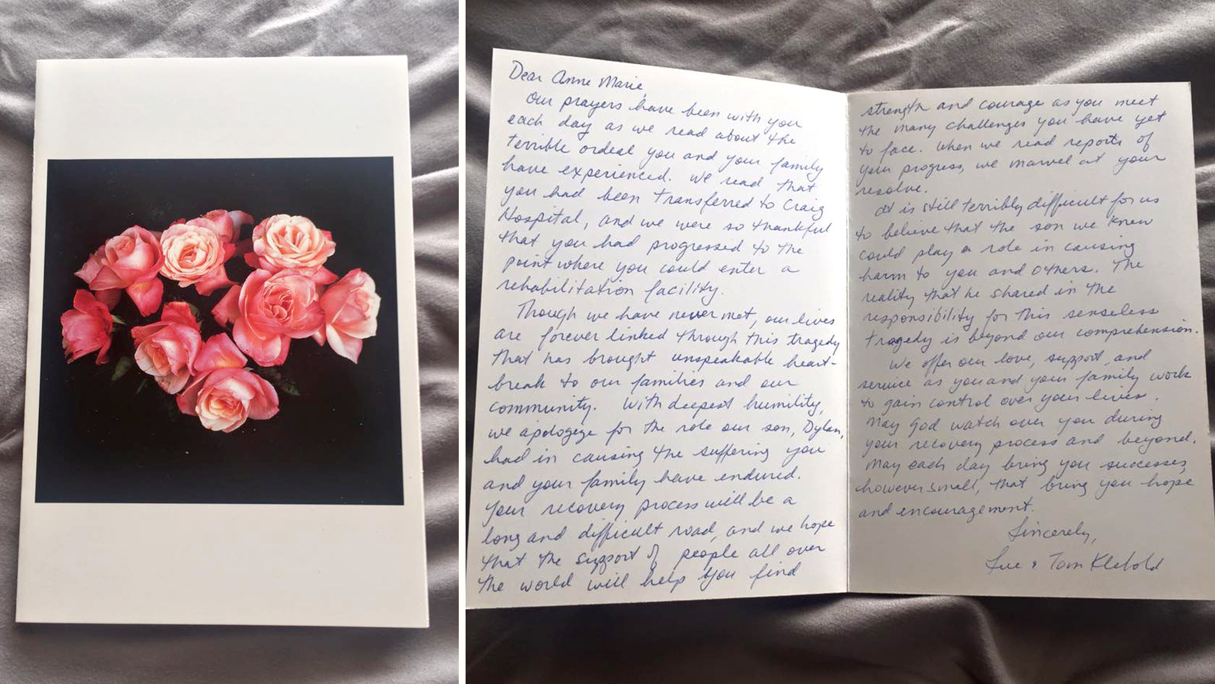 Letter Mother Son
