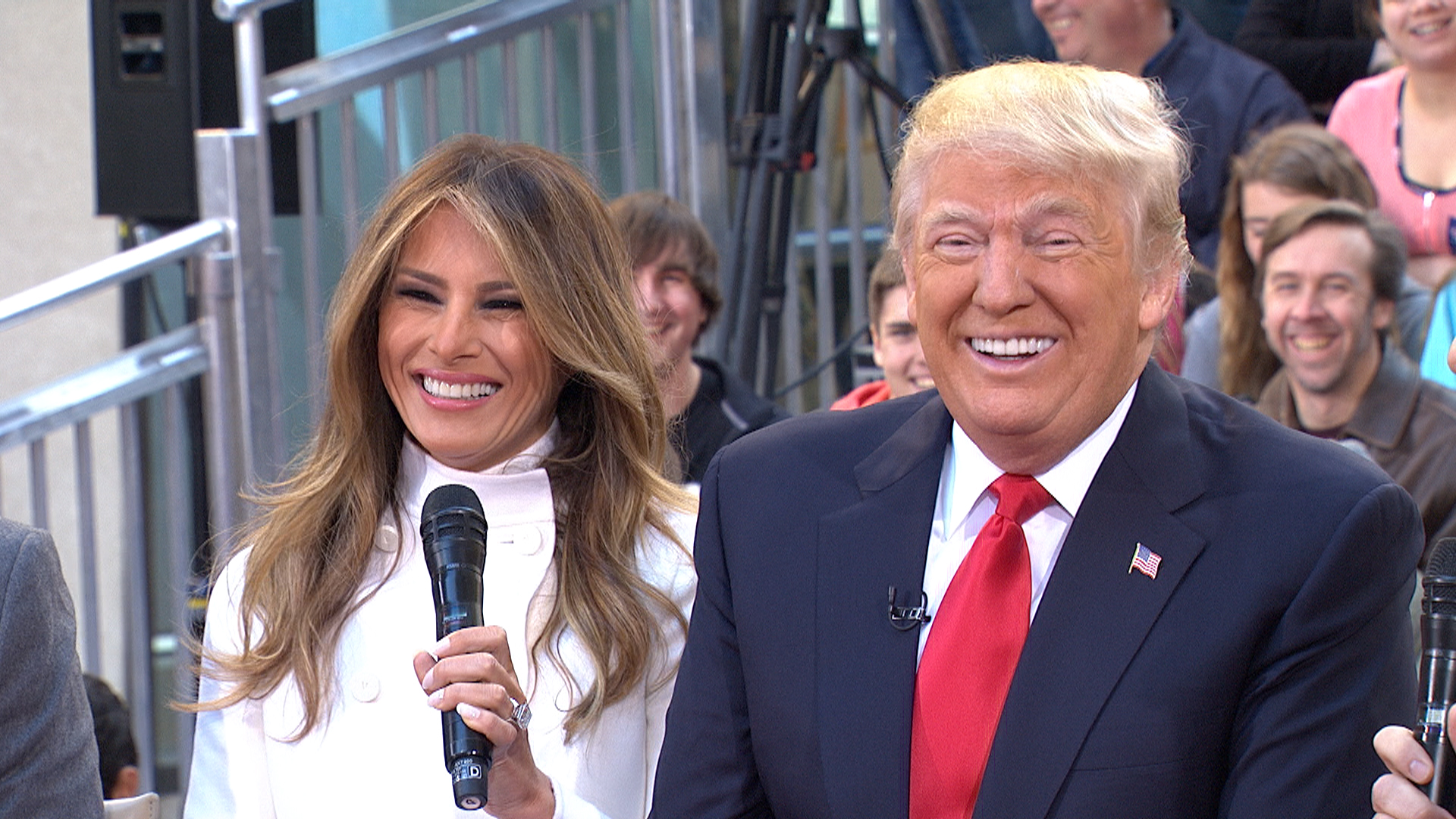 Image result for Trump Melania together