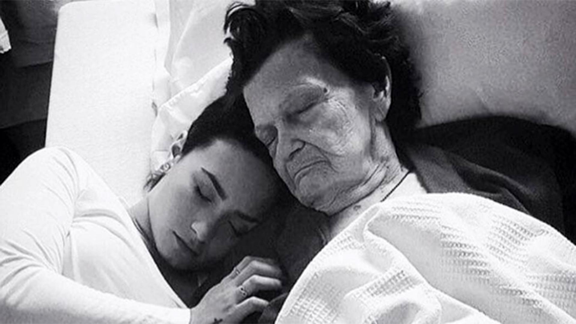 Demi Lovato e sua bisavó