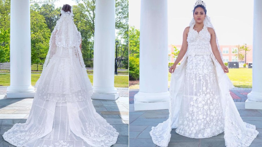 10 finalists of this year s toilet paper wedding dress contest