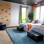 Boys Room Get The Coolest Makeover With A Rock Climbing Wall And More