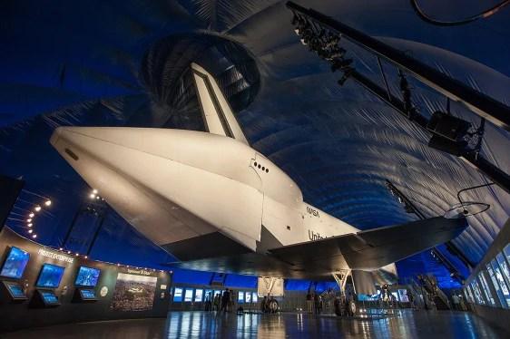 Space shuttle Enterprise makes museum debut - Technology ...