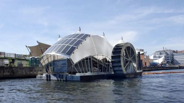 """Résultat de recherche d'images pour """"solar-powered water wheel"""""""