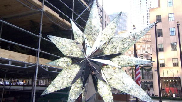 A first look at the Rockefeller Center Swarovski Christmas ...