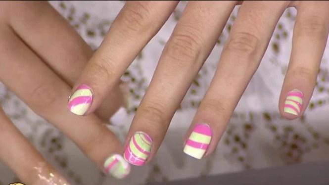 Nail Art Trends Negative E Watercolor Spiralore Today