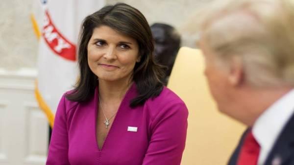 Nikki Haley resigns as Trump ambassador to U.N., catches ...
