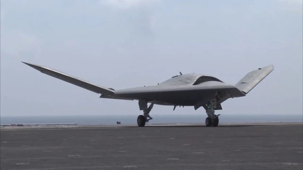Drone and Fighter Jet Take Historic Flight Off Aircraft ...