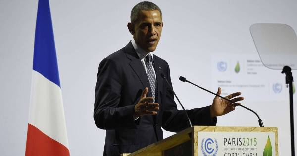 Watch President Obama's Speech to Paris Climate Conference ...