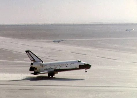 A dusty corner of space shuttle history Technology science Space Human