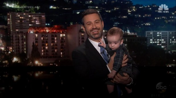 Jimmy Kimmel and his son, Billy, make a plea for CHIP ...