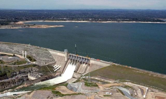 Image: Northern California's Folsom Lake on July 20, 2011.