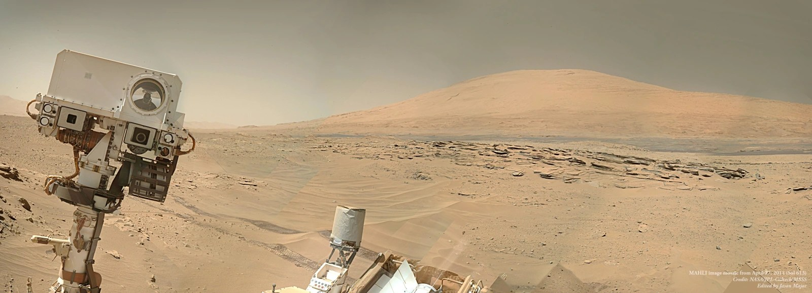 Image: Martian selfie
