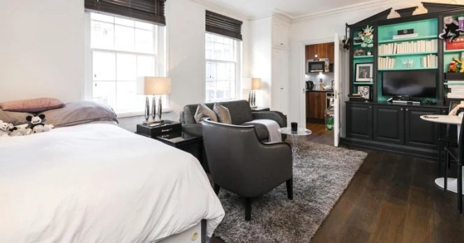 A Studio Apartment The Size Of Parking E Has Gone On In London For