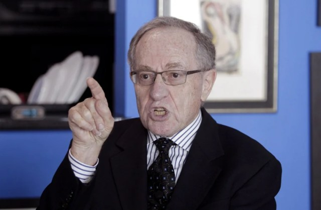 Alan Dershowitz sued for defamation connected to Epstein sex abuse claims