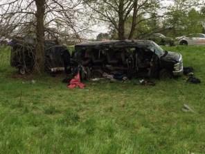 Image: I-85 crash scene
