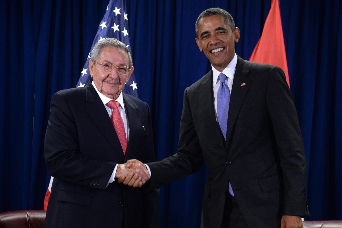 Image result for obama and castro