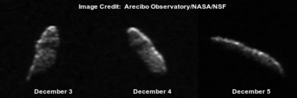 Asteroid to Pass by Earth on Christmas Eve (But Not ...