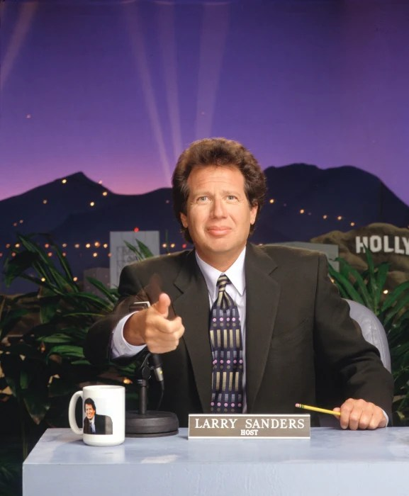 Image: Garry Shandling stars in the acclaimed comedy series THE LARRY SANDERS SHOW