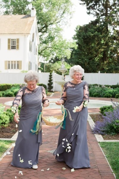 Flower girl grandmothers