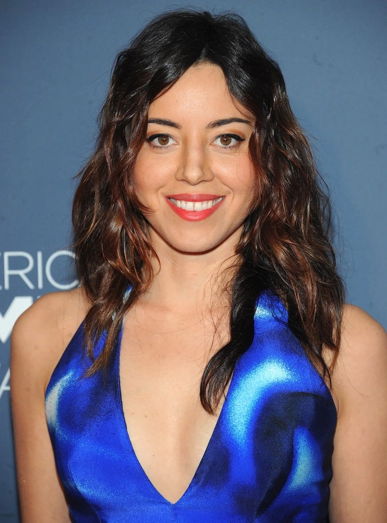 Aubrey Plaza Is A Redhead See Her Gorgeous New Auburn Waves