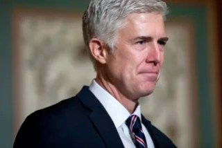 Image: Supreme Court nominee Judge Neil Gorsuch