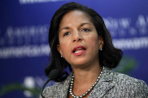 Susan Rice Calls Donald Trump's Black Caucus Remarks ...