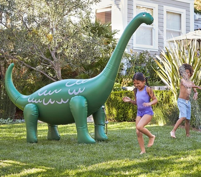 Dino sprinkler seen on today show steals and deals